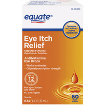 Equate 12hr Eye Itch Relief .34oz /60 Day Supply