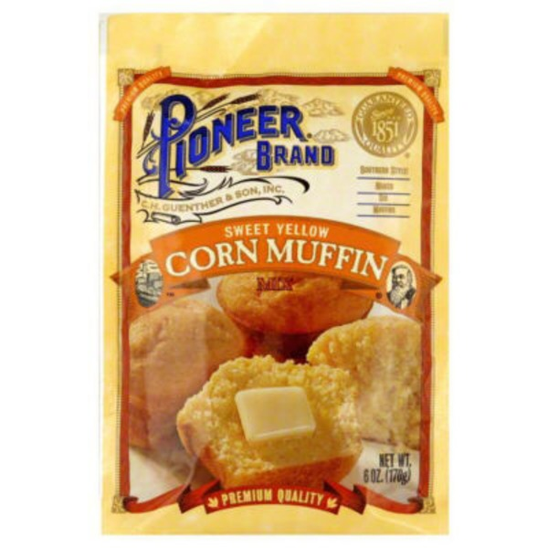 Pioneer Brand Sweet Yellow Corn Muffin Mix