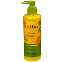 Alba Coconut Milk Facial Wash