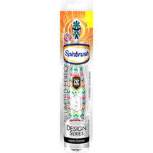 Arm & Hammer Spinbrush Design Series Powered Toothbrush Soft