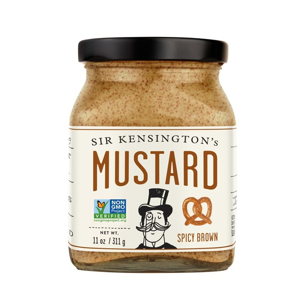 Sir Kensingtons Mustard, Spicy Brown