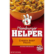 Betty Crocker Hamburger Helper Classic Cheesy Beef Pasta Dinner Kit