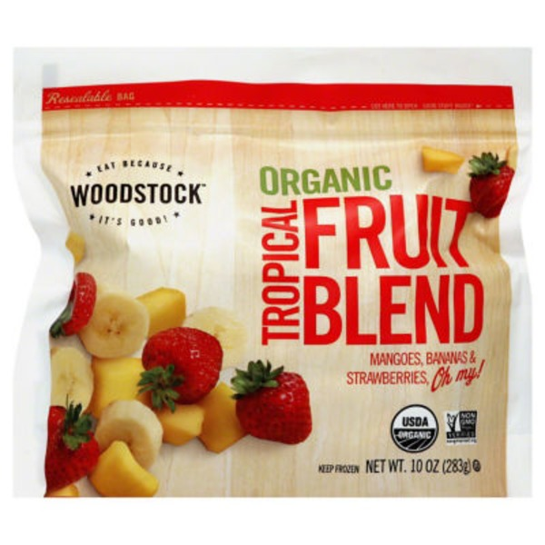 Woodstock Farms Organic Tropical Fruit Blend