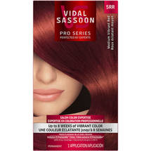 Vidal Sassoon Pro Series Hair Color 5RR Medium Vibrant Red 1 Kit