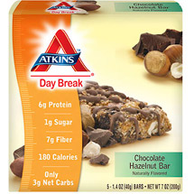 Atkins Day Break Chocolate Hazelnut Bars