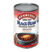 Bearitos Low Fat Refried Black Beans
