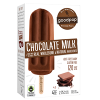 GoodPop Chocolate Milk Frozen Pops