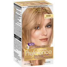 L'Oreal Paris Preference Medium Blonde 8 Haircolor