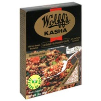 Wolff's Medium Kasha 100% Pure Roasted Buckwheat