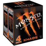 Monster Khaos Energy + Juice Drink
