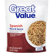Great Value Spanish Rice & Sauce