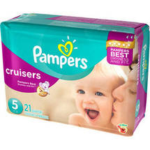 Pampers Cruisers Diapers Jumbo Pack Size 5