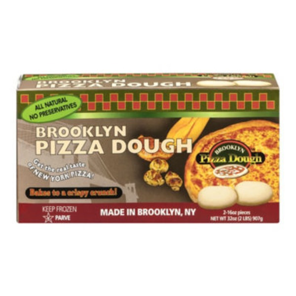 Real New York Pizza Dough Brooklyn Pizza Dough - 2 CT