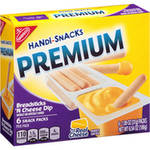 Kraft Handi-Snacks Premium Breadsticks 'N Cheez Snack Packs