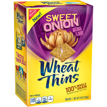 Nabisco Wheat Thins Sweet Onion Snack Crackers
