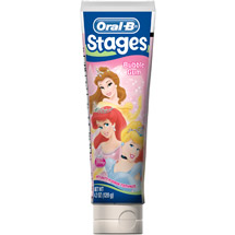 Oral B  Stage 3 Princess Toothpaste