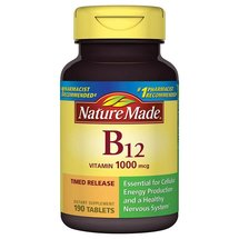 Nature Made Vitamin B-12 Dietary Supplement Timed Release Tablets