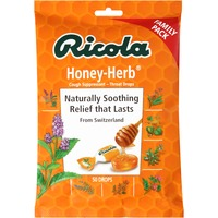 Ricola Cough Suppressant Honey-Herb Throat Drops