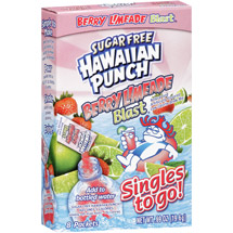 Hawaiian Punch Singles Berry Limeade Blast Drink Mix
