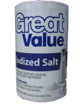 Great Value Iodized Salt