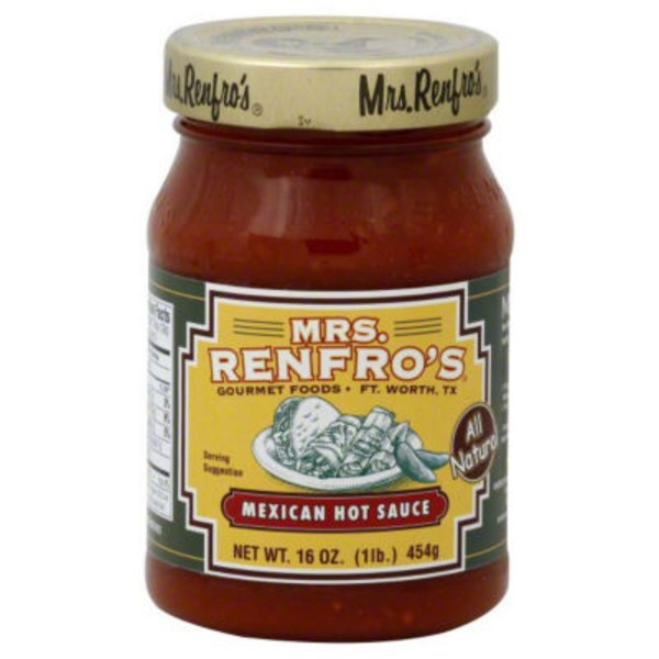 Mrs. Renfro's Mexican Hot Sauce