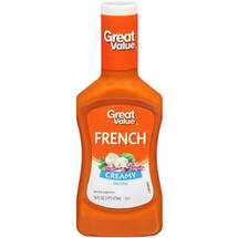 Great ValueCreamy French Dressing