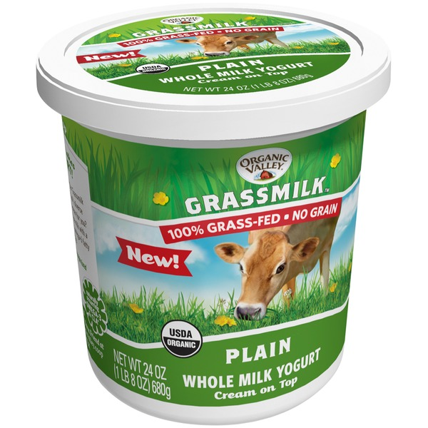 Organic Prairie Plain Whole Milk Yogurt