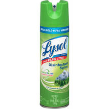 Lysol Disinfectant Spray Crisp Mountain Air Scent
