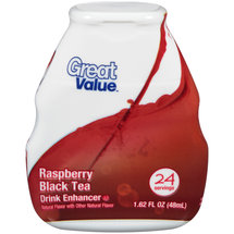 Great Value Raspberry Black Tea Drink Enhancer