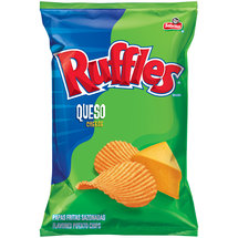 Ruffles Sabritas Queso Cheese Potato Chips