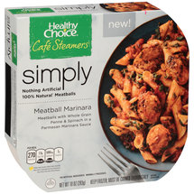 Healthy Choice Cafe Steamers Simply Meatball Marinara