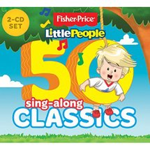Fisher Price LP 50 Sing-Along Classics 2CD