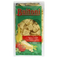 Buitoni Freshly Made.  With 50% less fat and 24% fewer calories than our regular refrigerated cheese ravioli. Light Four Cheese Ravioli