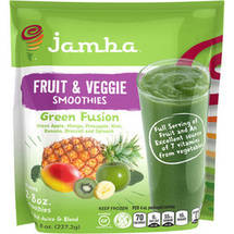 Jamba Fruit & Veggie Green Fusion Smoothies