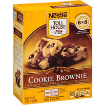 Nestle Toll House Cookie Brownie Kit