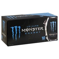 Monster Lo-Carb Energy Drink - 10 PK
