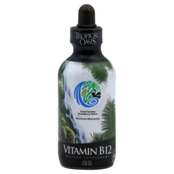 Tropical Oasis Strawberry Flavored Vitamin B12