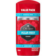 Old Spice Aqua Reef Deodorant (Pack of 2)