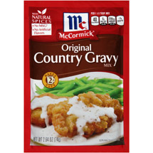 McCormick Original Country Gravy Mix
