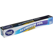 Great Value Aluminum Foil