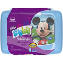 HUGGIES Pull-Ups Big Kid Flushable Wipes