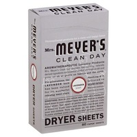 Mrs. Meyer's Clean Day Dryer Sheets Lavender - 80 CT