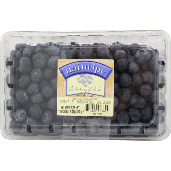 Naturipe Organic Blueberries Package