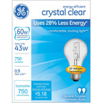 GE energy-efficient crystal clear 43 watt A19