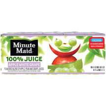 Minute Maid Apple White Grape 100% Juice