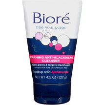 Biore Warming Anti-Blackhead Cleanser