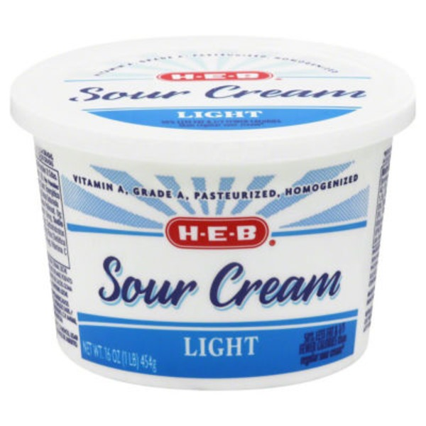 H-E-B Sour Cream Light