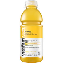 Glaceau vitaminwater Energy Tropical Citrus Nutrient Enhanced Water Beverage