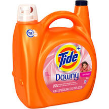Tide HE Plus a Touch of Downy April Fresh Liquid Laundry Detergent