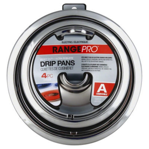Range Pro Electric Chrome Drip Pans